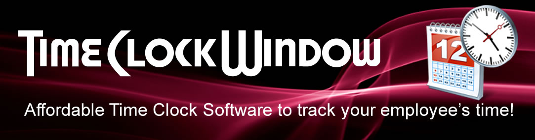 TimeClockWindow Time Clock Software