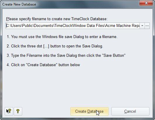 Topic: Create Company Database